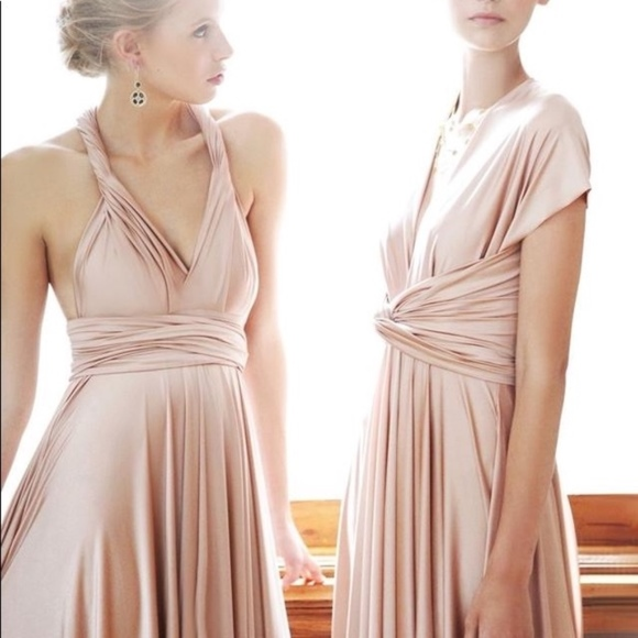 0eb2d977e8326 Twobirds Dresses | Rosewood Convertible Ballgown | Poshmark